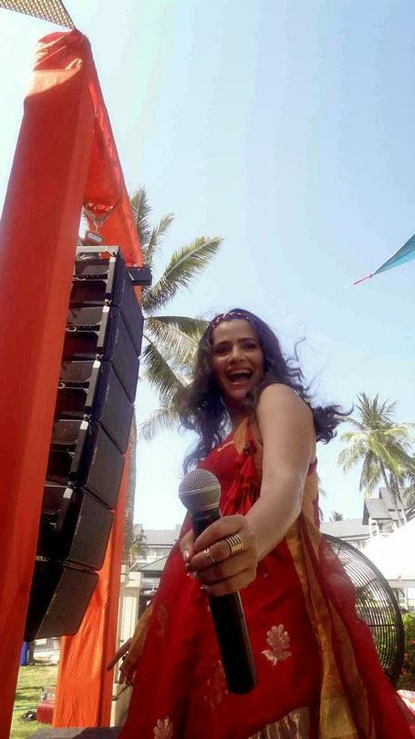 Sona Mohapatra Sizzled On The Stage During The Performance In Phuket
