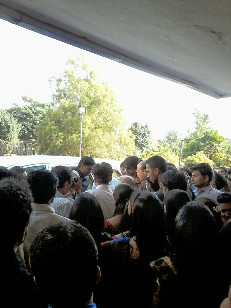 Huge Fans Of Sudeep Are Present On This Occassion