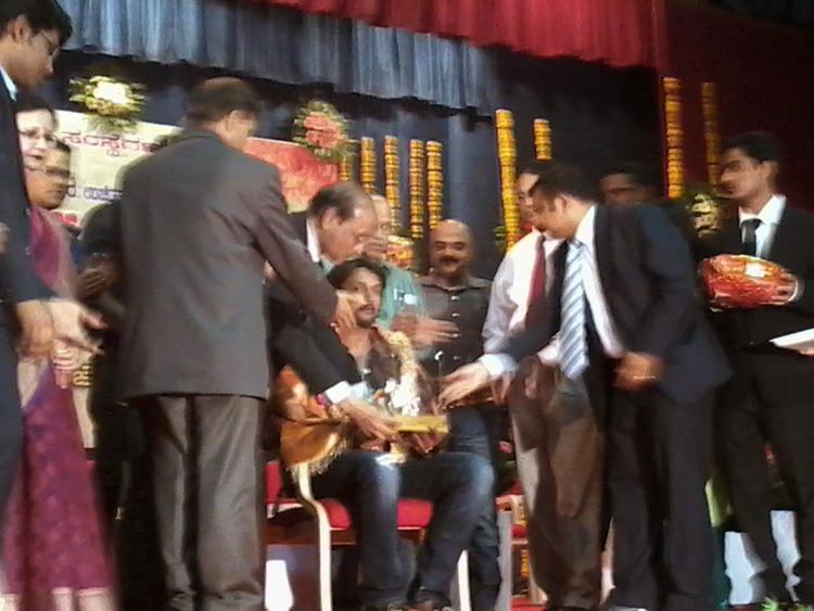 JNMC Kannada Balaga Annual Function Kichha Sudeep Still