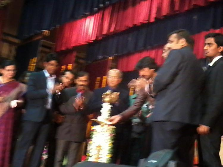 Kichha Sudeep Attend JNMC Kannada Balaga Annual Function