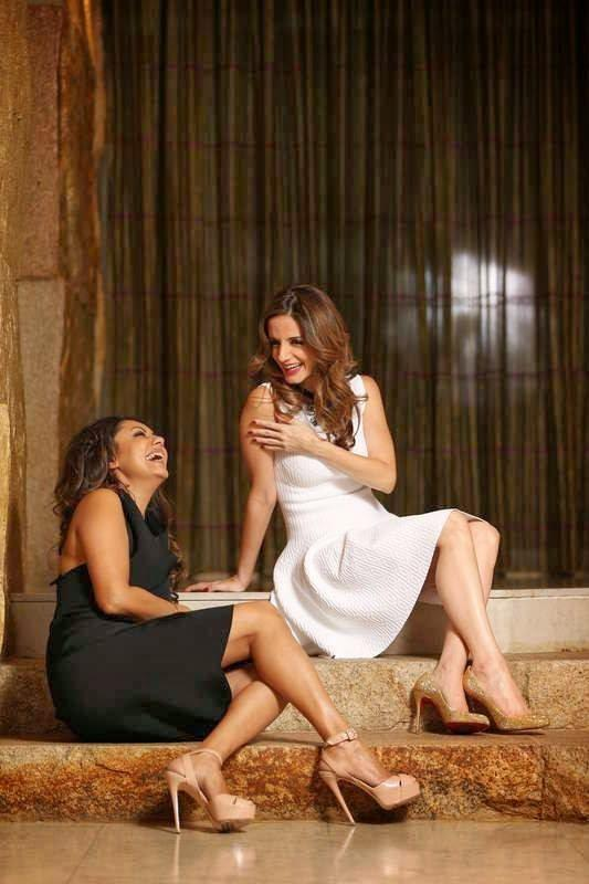 Suzanne Khan And Gauri Khan Open Smile Pic During Photo Shoot