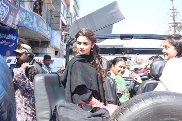 Alia Bhatt Spotted For Humpty Sharma Ki Dulhania Movie Shoot