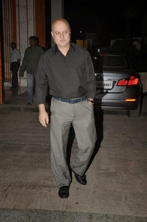 Anupam Kher Present At Kangana's House Warming Bash And Queen Movie Success Party