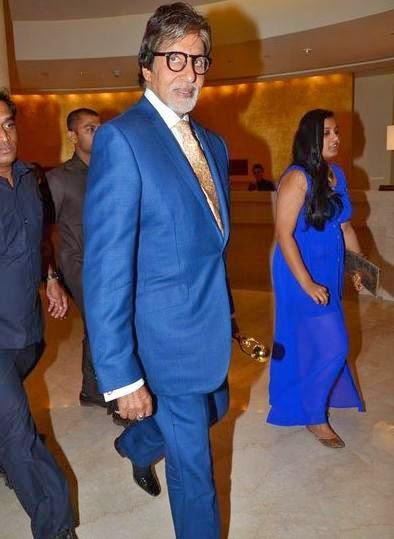 Amitabh Bachchan Conferred Global Icon Of The Year Award At The First Edition Of Times Now ICICI Bank NRI Of The Year Awards 2014 Ceremony