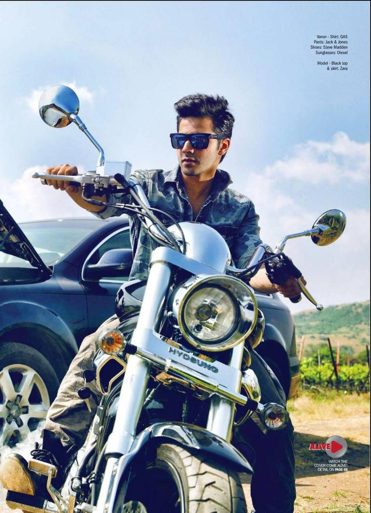 Varun Dhawan Dapper Stylish Look Photo Shoot For Filmfare Magazine March 2014 Issue
