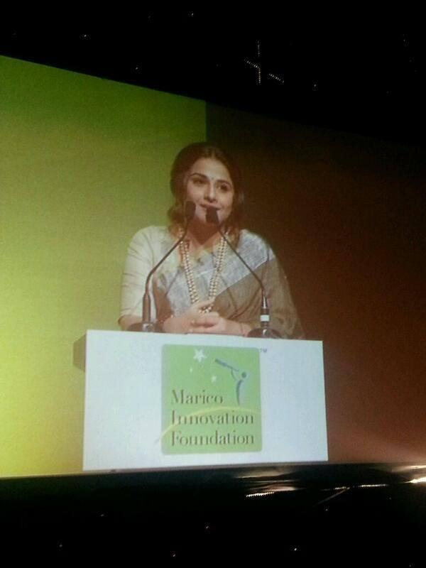 Vidya Balan Graced At The Innovation For India Awards 2014