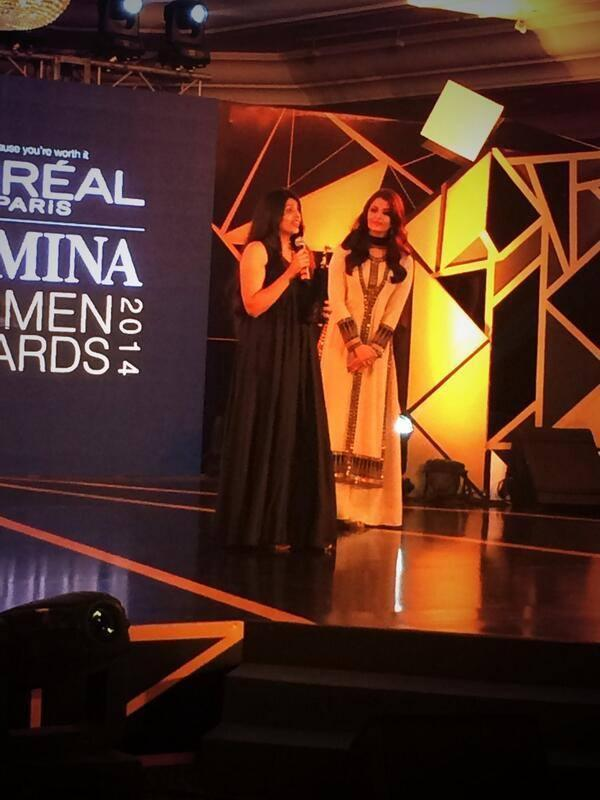 Aishwarya Sizzle At L'Oreal Paris Femina Women Awards 2014