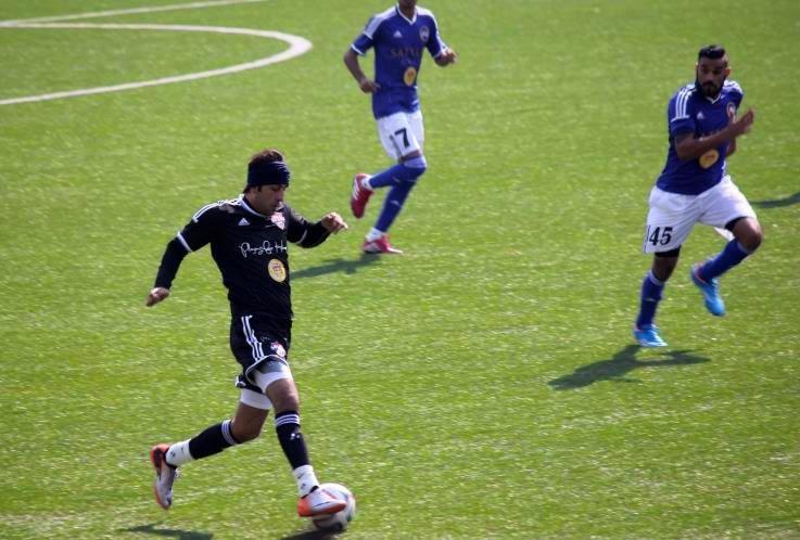Ranbir Kapoor Kicks At The Celebrity Football Match