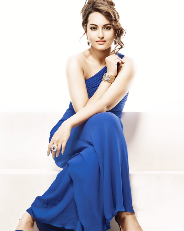 Sonakshi Sinha Radiant Attractive Look Shoot For CineBlitz April 2014 Issue