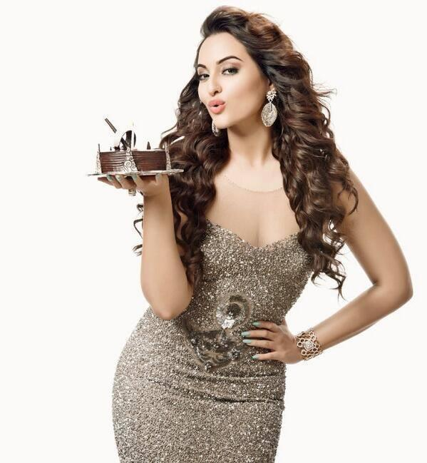 Sonakshi Sinha Trendy Look Pose For CineBlitz April 2014 Edition
