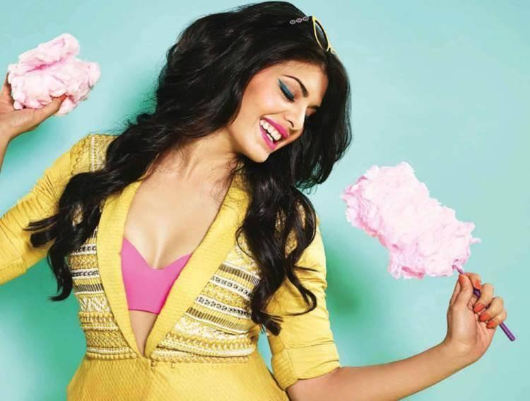 Jacqueline Fernandez In Candy Colors For Verve India April 2014 Issue