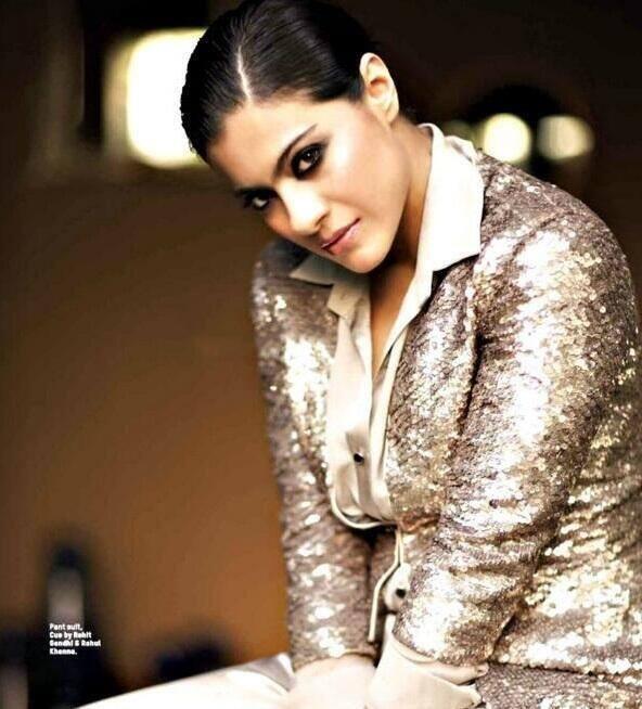 Kajol Devgan Radiant Gorgeous Look Shoot For L'Officiel Magazine April 2014 Issue