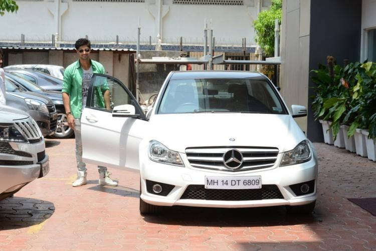 Tanuj Virwani Spotted At Suburban Hotel In Mumbai For A Lunch Party