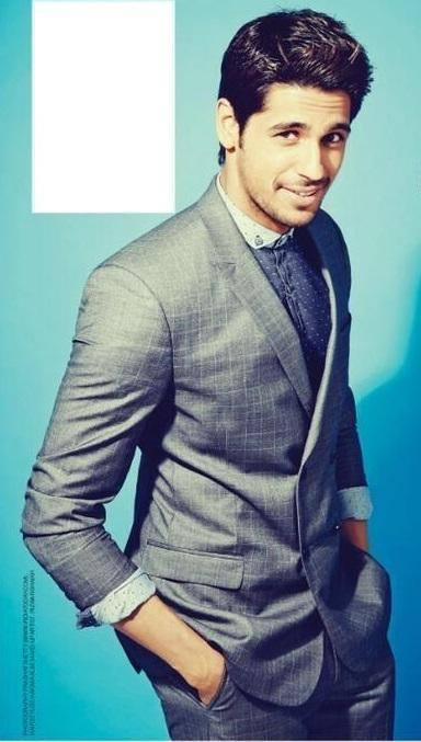 Sidharth Malhotra Dashing Look In Suit For Men's Health Magazine April 2014 Issue
