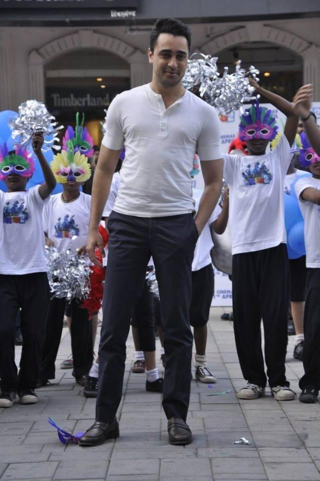 Imran Khan Posed During The Promotion Of The Animation Movie Rio 2 In Mumbai