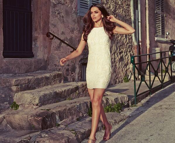 Deepika Padukone Shoots For Van Heusen's New Summer Luxury Campaign
