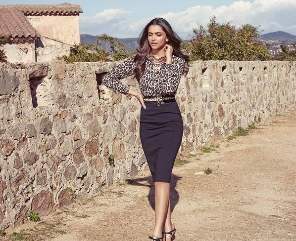 Deepika Padukone Van Heusen's Summer Luxury Campaign Glamour Still