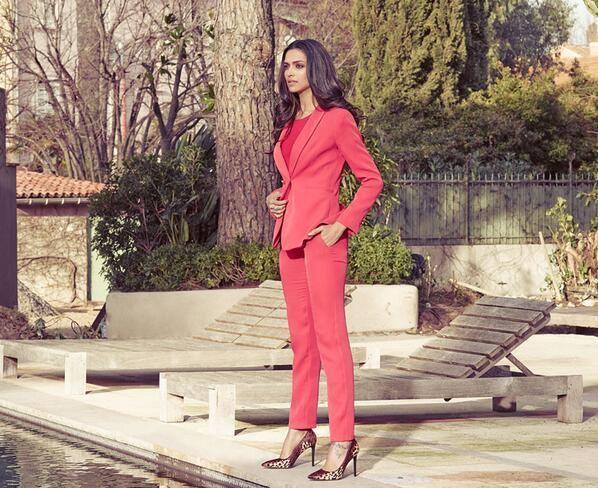 Van Heusen's New Summer Luxury Campaign Deepika Latest Still