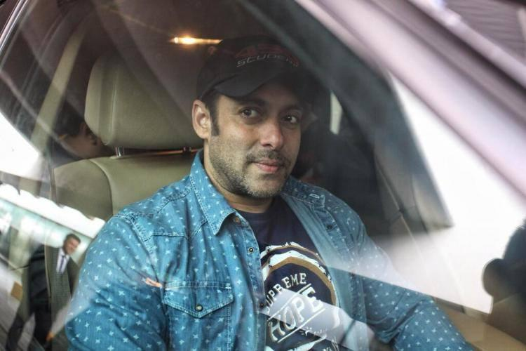 Salman Khan During The Salman Khan Chopin Airport In Poland