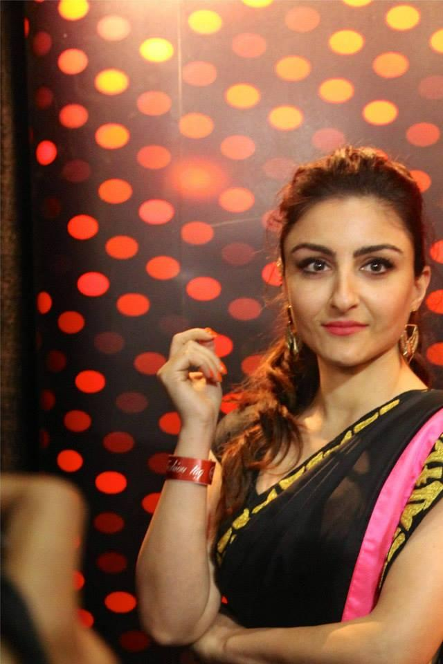 Soha Ali Khan Stunning Look At Wills Lifestyle India Fashion Week On Day 3