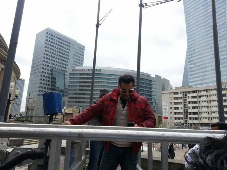 Exclusive Pic Of Salman Khan At InterContinental Warsaw In Poland