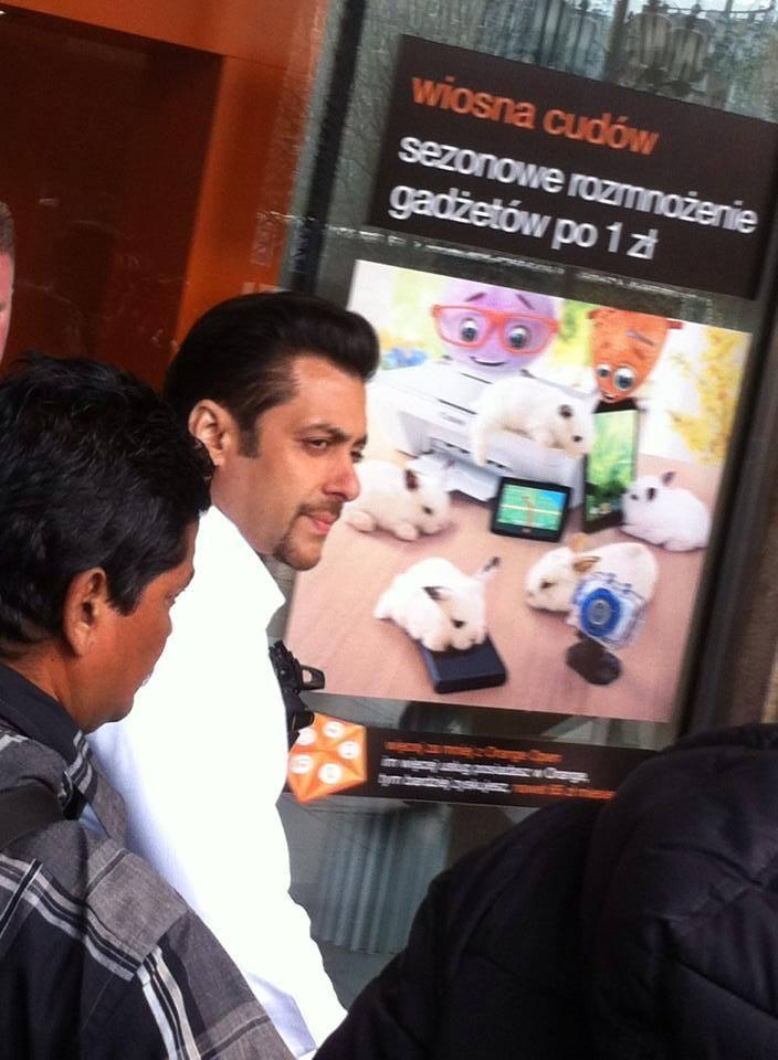 Salman Khan's On Location Kick Shooting Exclusive Photo From Warsaw