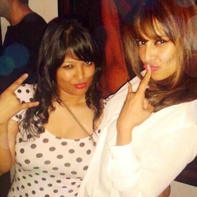 Bipasha Basu Cool Pose With Friend Photo Still