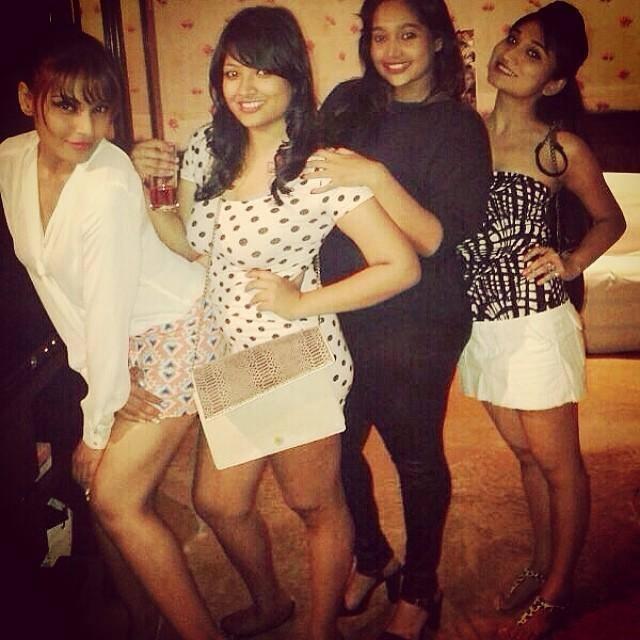 Bipasha Basu Funny Pose With Friends Photo Still