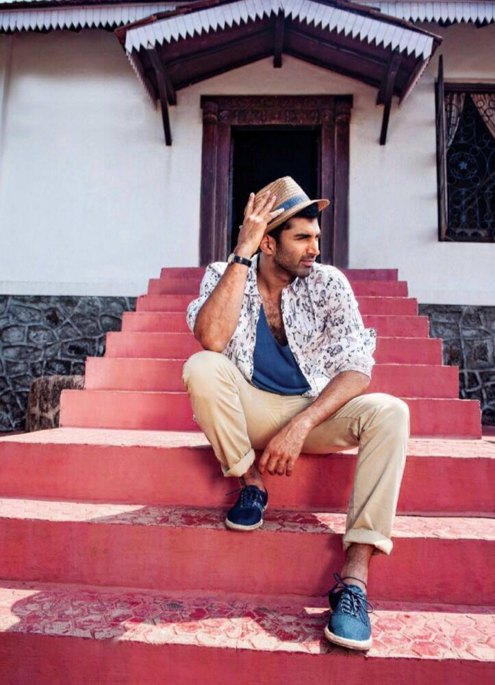 Aditya Roy Kapur Stylish Pose Shoot For Filmfare Magazine April 2014 Issue