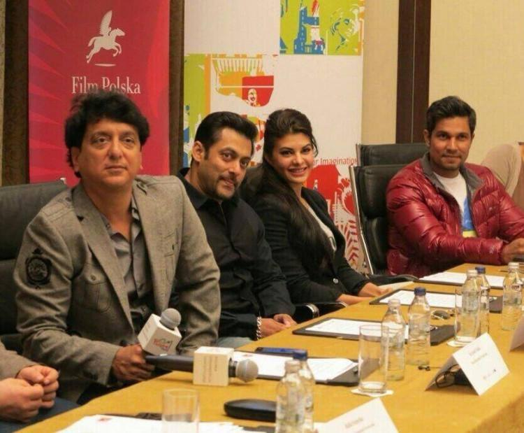 Kick Press Conference With Salman,Randeep,Jacqueline And Sajid In Poland