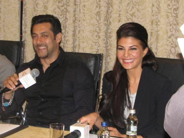 Salman And Jacqueline Interviewed In Warsaw For Their Upcoming Movie Kick