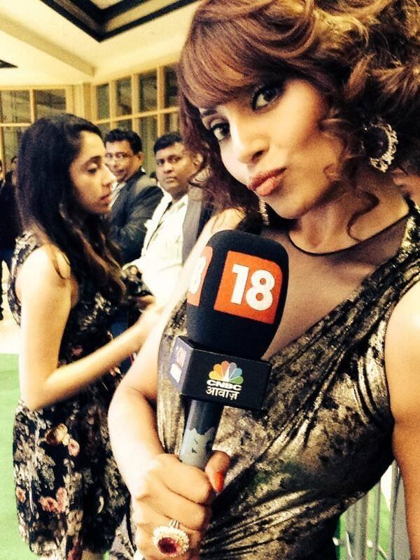 Bipasha Basu Strikes A Pose For Lences At The IIFA 2014