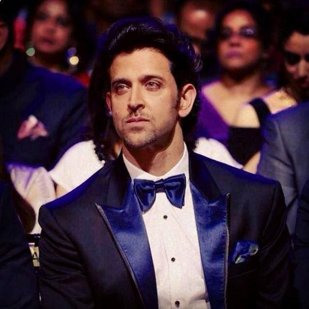 Hrithik Roshan Stunning Face Look At The IIFA 2014
