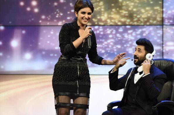 Parineeti Chopra Fun On Stage At The IIFA Magic Of Movies Event
