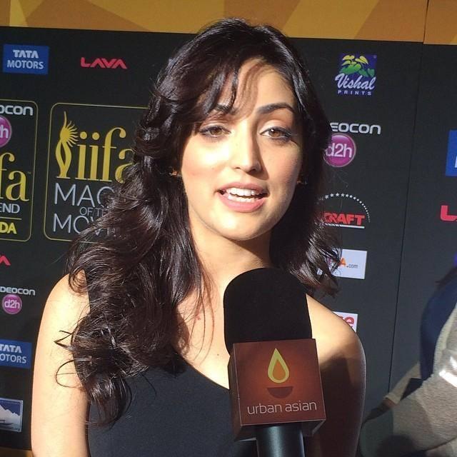 Yami Gautam Interact With Media At The IIFA Magic Of Movies Event
