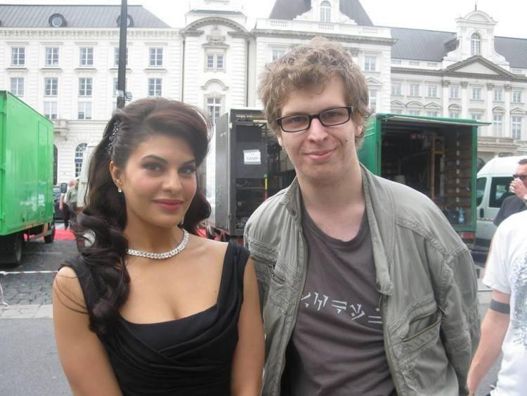 Jacqueline Sweet Still With A Fan During The Sets Of Kick In Poland