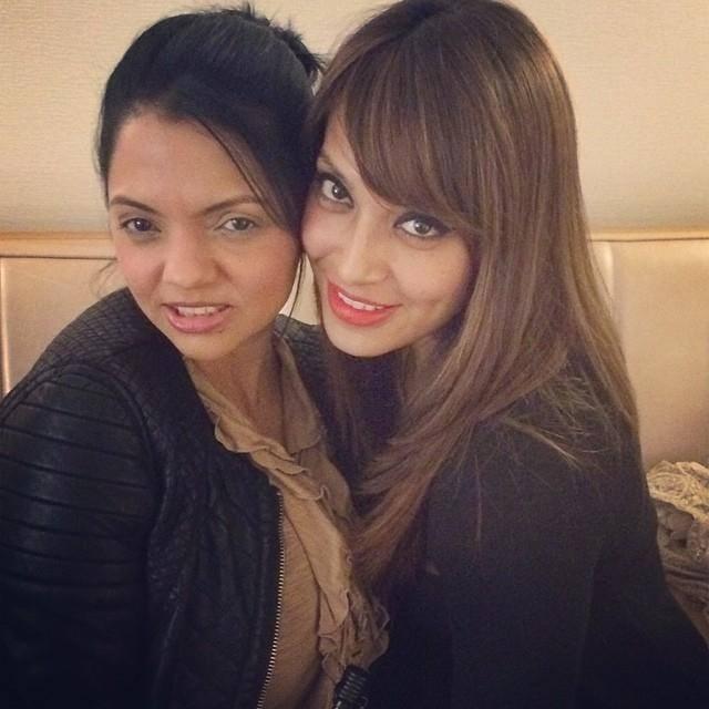 Bipasha Basu Clicks A Selfie With Best Friend Susie In NYC