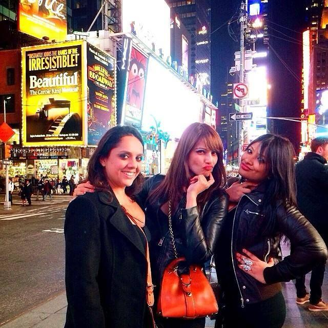 Bipasha Basu Parties With Friends In NYC