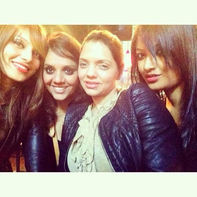 Bipasha Basu Strikes A Pose With Her 3 Close Friends In NYC