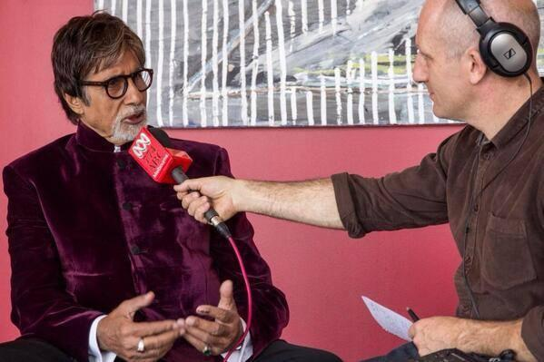 Amitabh Bachchan Attend A Press Meet At Melbourne For Indian Film Festival Melbourne