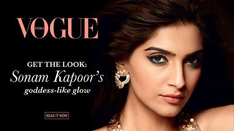 Sonam Kapoor Dazzling Charming Face Look For L'Oreal Paris New Ad 2014