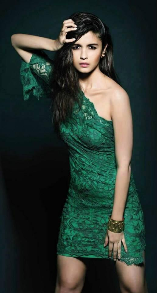 Cute Hot Bollywood Beauty Alia Bhatt L'Officiel India May 2014 Issue