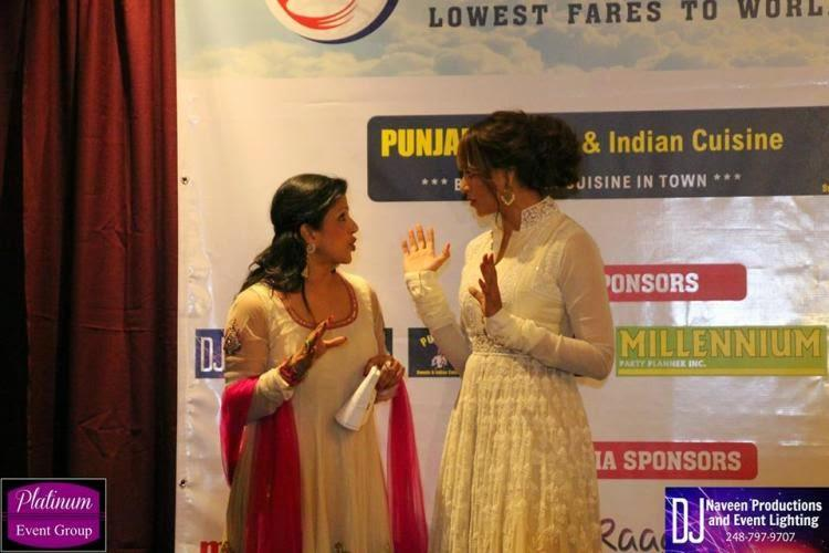 Bipasha Basu Discussion Look At An Event In Detroit USA