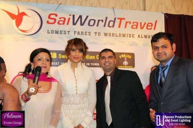 Bipasha Basu Posed For Camera At An Event In Detroit USA