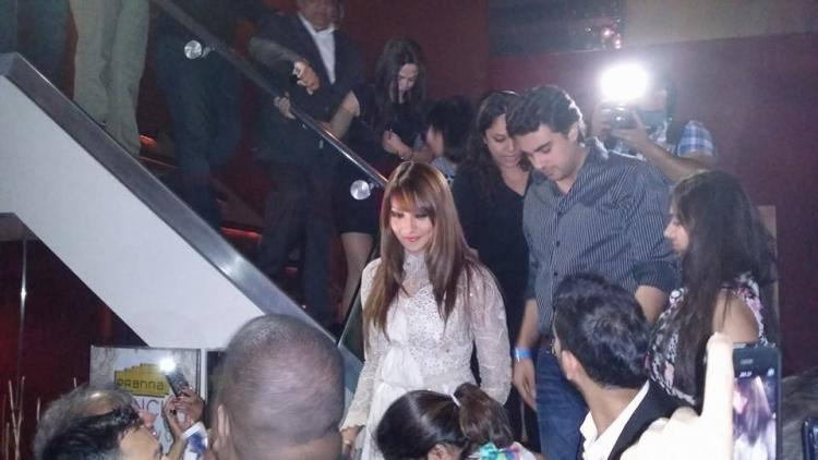 Bipasha Basu During The Media At An Event In New York City
