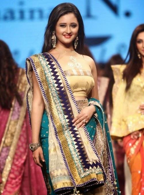 Beautiful TV Serial Actress Rashmi Desai At CPAA Fashion Show