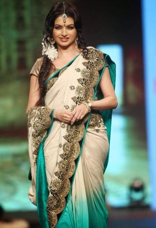 Bhagyashree Sizzles On The Ramp At CPAA Fashion Show