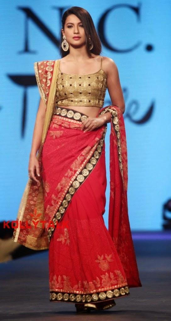 Gauhar Walk For Shaina NC At CPAA Fashion Show