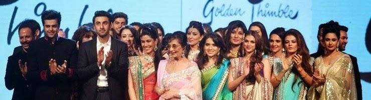Ranbir Kapoor And Other Bollywood Celebs Attend The Cancer Patients Aid Association'S Fashion Show By Shaina NC.