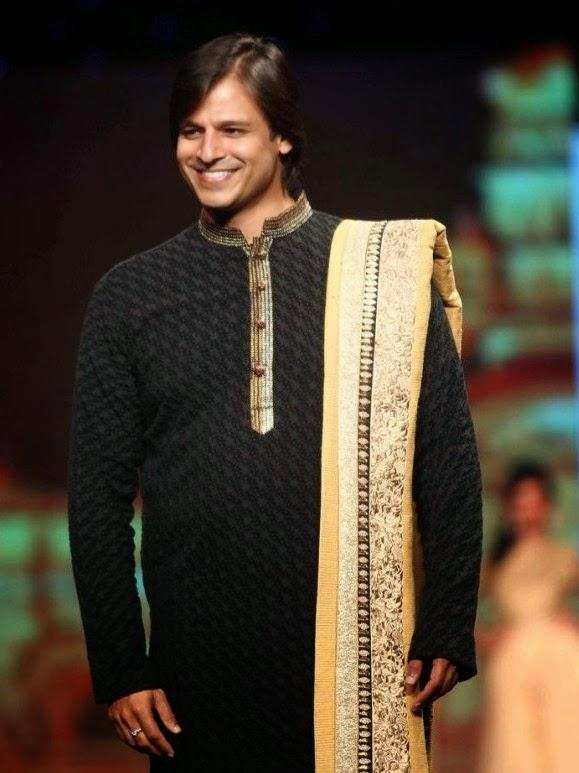 Vivek Oberoi Smiling Pic On The Ramp At CPAA Fashion Show